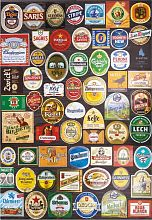 Jigsaw puzzle Educa 1500 pieces: Collage brand of beer