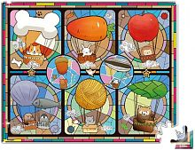 Stained glass puzzle Pintoo 80 details: Balloon