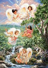 Puzzle Art Puzzle 1000 pieces: Angels of hope