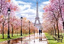 Puzzle Castorland 1000 pieces: Romantic walk in Paris
