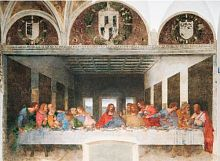 Puzzle Clementoni 1000 pieces: Leonardo. The last supper