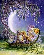 Wooden jigsaw puzzle 250 parts DaVICI: Wisteria moon