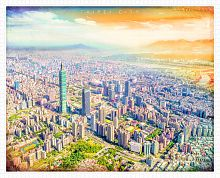 Pintoo 2000 piece puzzle: Taipei. A wonderful moment