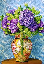 Puzzle Castorland 1000 pieces: a Bouquet of hydrangea