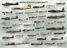 Puzzle Eurographics 1000 pieces: Airplanes of the second world war