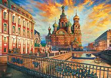 Jigsaw puzzle Educa 1500 parts Saint Petersburg