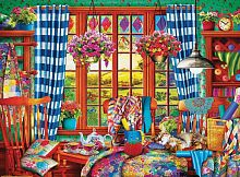 Puzzle Eurographics 1000 pieces: the craft Room