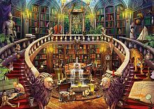 Puzzle Educa 500 items: Old library