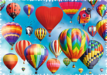 Trefl puzzle 600 pieces: Colored balloons