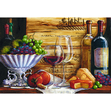 Trefl Puzzle 1500 pieces: Still Life with grapes