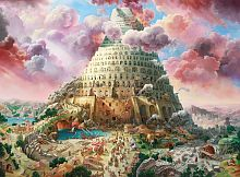 Puzzle Castorland 3000 pieces: the tower of Babel