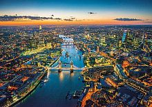 Jigsaw puzzle Educa 1500 pieces: London from the height of bird flight