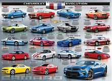 Puzzle Eurographics 1000 pieces: Evolution Chevrolet Camaro