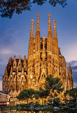 Puzzle Educa 1000 pieces: Sagrada Familia