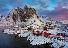 Jigsaw puzzle Educa 1500 pieces: Lofoten Islands, Norway