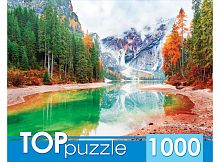 TOP Puzzle 1000 pieces: Italy. Lake Bryce