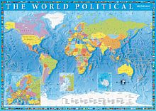 Trefl puzzle 2000 details: Political map of the world