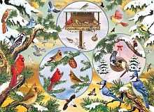 Puzzle Cobble Hill 500 items: Magic winter birds
