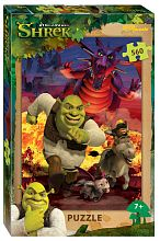 Puzzle Step 560 details: Shrek (DreamWorks, Multi)