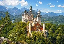 Puzzle Castorland 500 details: a view of the Neuschwanstein castle