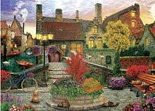 Puzzle Eurographics 1000 pieces: home town, Dominic Davison