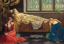 Jigsaw puzzle Educa 1500 pieces: Sleeping beauty by John Collier