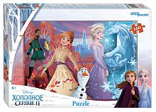 Puzzle Step 160 details: the Cold heart - 2 (Disney)