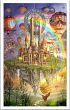 Puzzle Pintoo 1000 pieces: Marchetti. The flying city