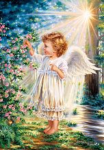 Puzzle Castorland 1000 pieces: touched by an angel