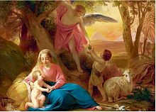 Puzzle Stella 2000 details: Bassin P. V. the Rest of the Holy family