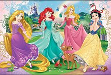 Trefl puzzle 60 pieces: Princess, Disney