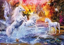 Clementoni puzzle 1500 pieces: Unicorns