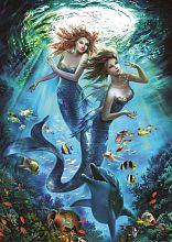 Art Puzzle 500 pieces: Mermaids
