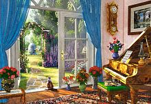 Puzzle Castorland 1000 pieces: garden View