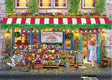 Puzzle Eurographics 1000 pieces: Plush petals florist P. Normand