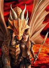 Puzzle Clementoni 1000 pieces: power of the dragon