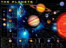 Puzzle Eurographics 1000 pieces: Planets