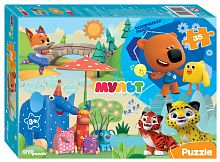 Step puzzle 35 pieces: Mi-mi-bears, etc. Cartoon