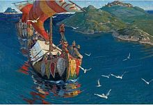 Stella puzzle 1500 pieces: Roerich N. To. Overseas visitors