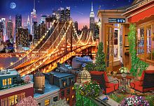 Puzzle Castorland 1000 pieces: the Lights of the Brooklyn bridge