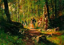 Jigsaw puzzle Stella 1000 pcs: Walk in the forest