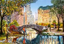 Puzzle Castorland 1000 pieces: an Evening walk through Central Park
