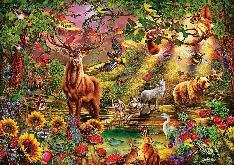 Puzzle ART Puzzle 1000 pezzi-Sea Symphony 53567