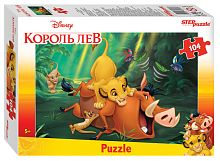 Puzzle Step 104 details: the lion King (Disney)