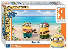Puzzle Step 35 details: Despicable Me