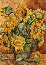 Stella puzzle 1000 pieces: Goncharova N. With. Sunflowers