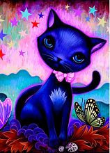 Puzzle Heye 1000 pieces: Black kitten
