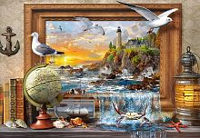 Puzzle Castorland 1000 pieces: an Animated sea