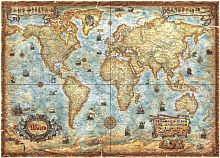 Puzzle Heye 2000 details: Old map