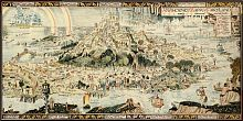 Puzzle Pomegranate 1000 pieces: Bernard Sleighs Ancient map of fairyland